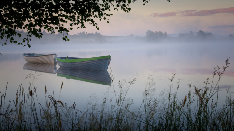 Loch Rusky by David Mould